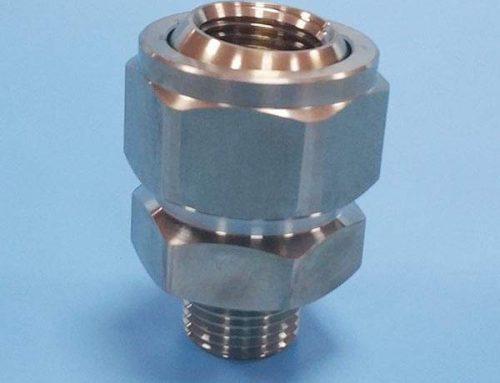 Metalljusterbar spraymunstycke 155RS